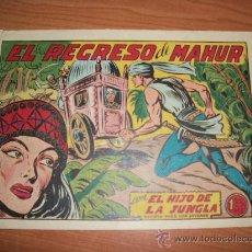 Tebeos: EL HIJO DE LA JUNGLA Nº 11 ORIGINAL EDITORIAL VALENCIANA . Lote 24539009
