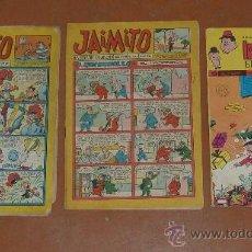 Tebeos: LOTE DE 2 JAIMITO Y UN LAUREL Y HARDY. ANTIGUOS.. Lote 24595712