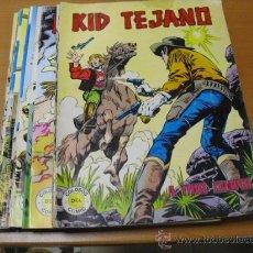 Tebeos: 19 TEBEOS DE KID TEJANO DEL COLOSOS DEL COMIC 1980. Lote 24739772