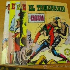 Tebeos: 6 TEBEOS DEL EL TEMERARIO 1981. Lote 24740080