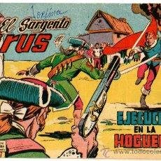 Tebeos: EL SARGENTO VIRUS Nº 4, EDI. VALENCIANA 1962, ORIGINAL. Lote 24755861