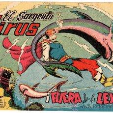 Tebeos: EL SARGENTO VIRUS Nº 18, EDI. VALENCIANA 1962, ORIGINAL, SIN ABRIR, VER IMAGENES. Lote 24755984