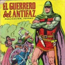 Tebeos: EL GUERRERO DEL ANTIFAZ Nº 1 - ED.VALENCIANA 1972. Lote 24930452
