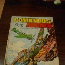 Tebeos: COMANDOS EN ACCION Nº 2. ED. VALENCIANA. Lote 24930681