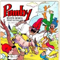 Tebeos: PUMBY Nº 1105, EDI. VALENCIANA 1980, COMO NUEVO, SIN CIRCULAR. Lote 25075603