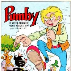 Tebeos: PUMBY Nº 1107, EDI. VALENCIANA 1980, COMO NUEVO, SIN CIRCULAR. Lote 25075623
