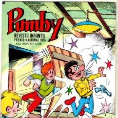 Tebeos: PUMBY Nº 1110, EDI. VALENCIANA 1980, COMO NUEVO, SIN CIRCULAR. Lote 25075638
