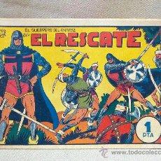 Tebeos: COMIC, EL GUERRERO DEL ANTIFAZ, EL RESCATE, Nº 29, EDITORIAL VALENCIANA. Lote 25081126