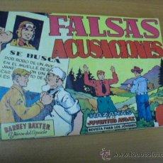 Tebeos: BARNEY BAXTER EL HEROE DEL ESPACIO Nº 9, EDITORIAL VALENCIANA1960. Lote 25088977