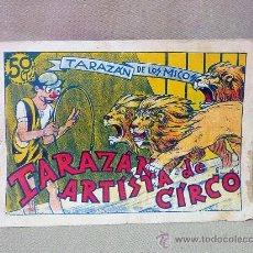 Tebeos: COMIC, ORIGINAL, TARAZAN DE LOS MICOS, TARAZAN, ARTISTA DE CIRCO, EDITORIAL VALENCIANA, Nº 2. Lote 25219583