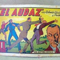 Tebeos: COMIC, ORIGINAL, ROBERTO ALCAZAR Y PEDRIN, EL AUDAZ, EDITORIAL VALENCIANA. Lote 25220636