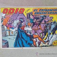 Tebeos: COMIC, EL ESPADACHIN ENMASCARADO, Nº 179, ODIO , EDITORIAL VALENCIANA, ORIGINAL. Lote 25233332