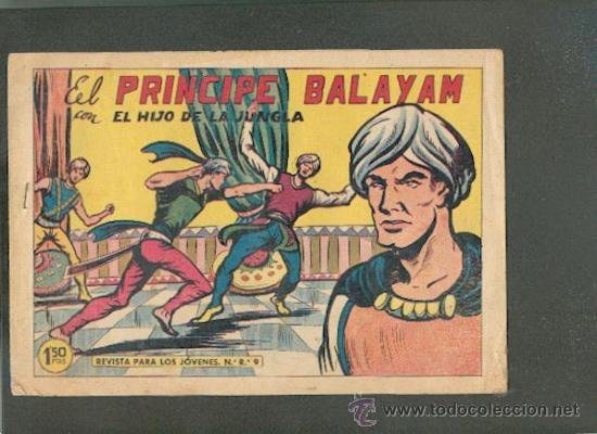 EL HIJO DE LA JUNGLA Nº 44, EDITORIAL VALENCIANA (Tebeos y Comics - Valenciana - Hijo de la Jungla)
