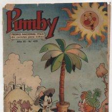 Tebeos: PUMBY Nº 419. VALENCIANA 1955.. Lote 25306218
