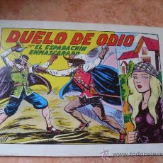 Tebeos: EL ESPADACHIN ENMASCARADO,Nº 6,2ª EDICION,EDITORA VALENCIANA,AÑO 1981,. Lote 25367340