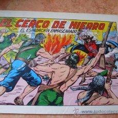 Tebeos: EL ESPADACHIN ENMASCARADO,Nº 28,2ª EDICION,EDITORA VALENCIANA,AÑO 1981,. Lote 25367597