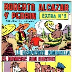 Tebeos: ROBERTO ALCAZAR Y PEDRIN COLOR EXTRA -VALENCIANA 1976. LOTE 32 EJEMPLARES ,VER IMAGENES. Lote 25384411