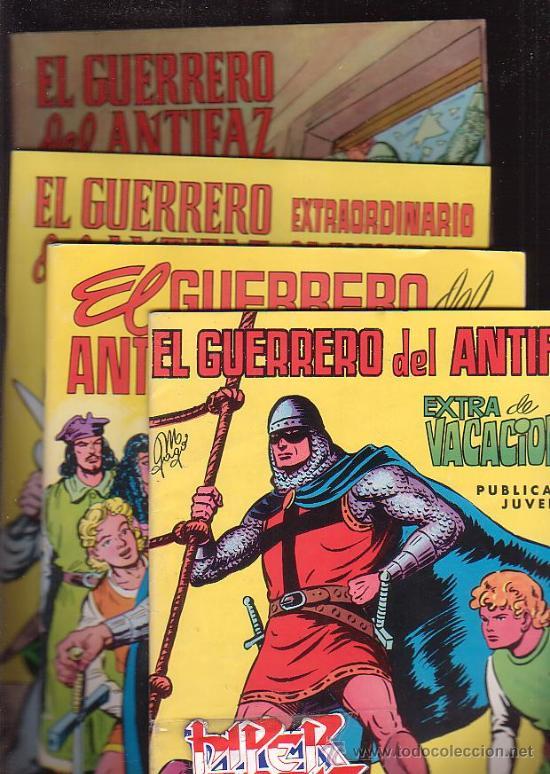 Tebeos: EL GUERRERO DEL ANTIFAZ, COLECCION COMPLETA 343 EJEMPLARES + 13 ESPECIALES ( DE VALENCIANA 1972 ) - Foto 5 - 47321997