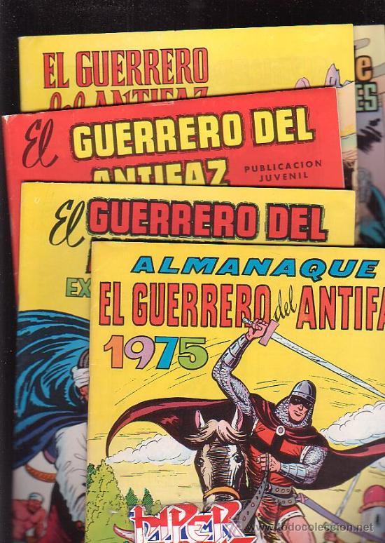 Tebeos: EL GUERRERO DEL ANTIFAZ, COLECCION COMPLETA 343 EJEMPLARES + 13 ESPECIALES ( DE VALENCIANA 1972 ) - Foto 6 - 47321997