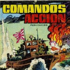 Tebeos: COMANDOS EN ACCIÓN - Nº 4 - EDITORIAL VALENCIANA 1980. Lote 25622669
