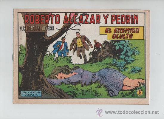 ROBERTO ALCAZAR Y PEDRIN Nº 1188 ORIGINAL (Tebeos y Comics - Valenciana - Roberto Alcázar y Pedrín)