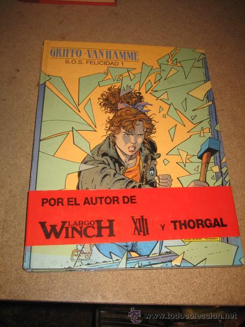S.O.S FELECIDAD TOMO I POR GRIFFO VAN HAMNA EDICIONES JUNIOR TRAZO LIBRE 1992 (Tebeos y Comics - Valenciana - S.O.S)