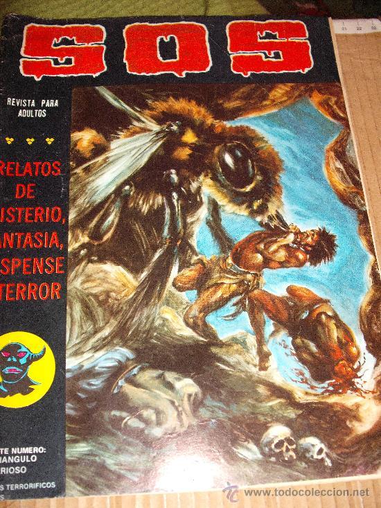 COMIC TERROR VALENCIANA: S O S SOS 23 SEGUNDA EPOCA KA-E (Tebeos y Comics - Valenciana - S.O.S)