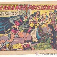 Tebeos: EL GUERRERO DEL ANTIFAZ Nº. 301, ORIGINAL. Lote 26104282