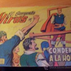 Tebeos: EL SARGENTO VIRUS Nº 17 ( ORIGINAL ED. VALENCIANA ) ( CO2 ). Lote 26262206