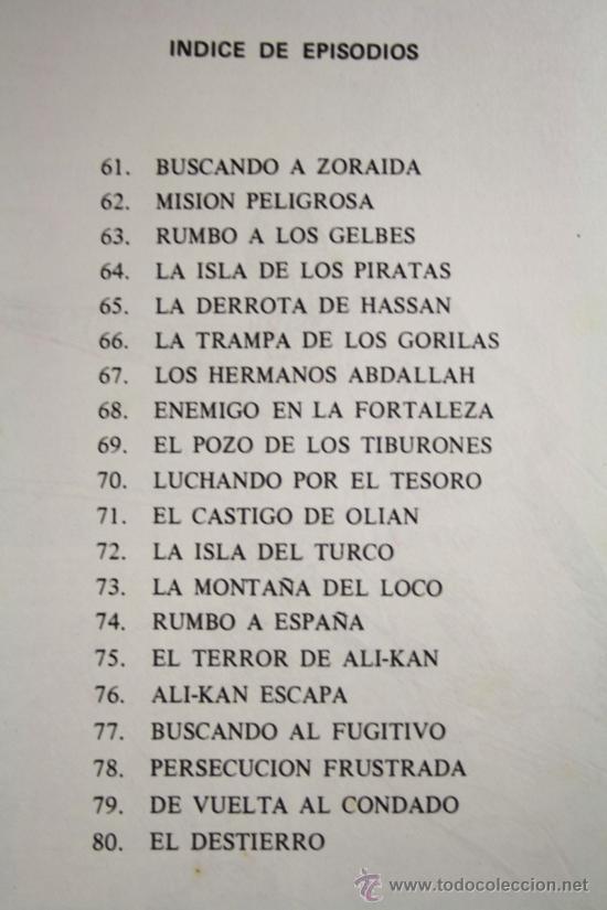 Tebeos: El Guerrero de Antifaz - Tomo 4, Ed. Valenciana 1973 - Episodios del 61 al 80 - Foto 2 - 26240671