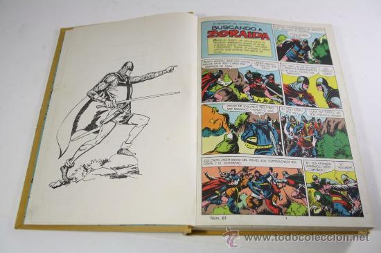 Tebeos: El Guerrero de Antifaz - Tomo 4, Ed. Valenciana 1973 - Episodios del 61 al 80 - Foto 3 - 26240671