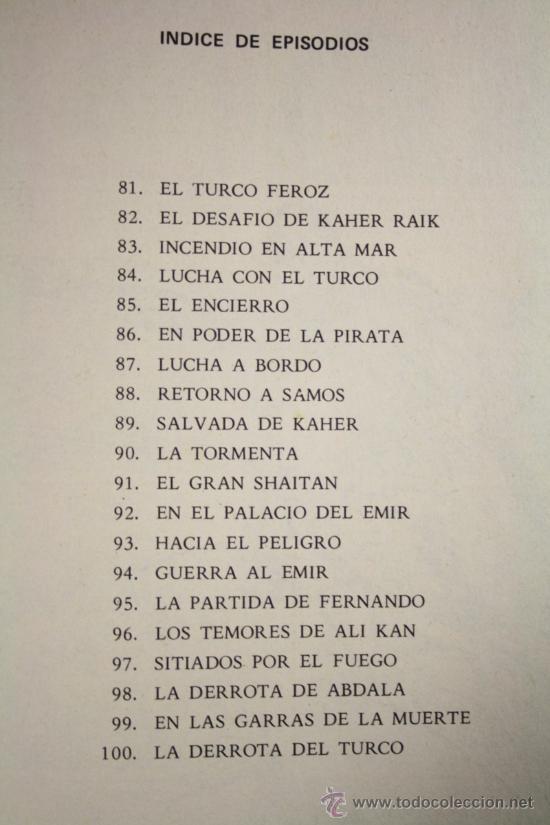 Tebeos: El Guerrero de Antifaz - Tomo 5, Ed. Valenciana 1974 - Episodios del 81 al 100 - Foto 2 - 26240769