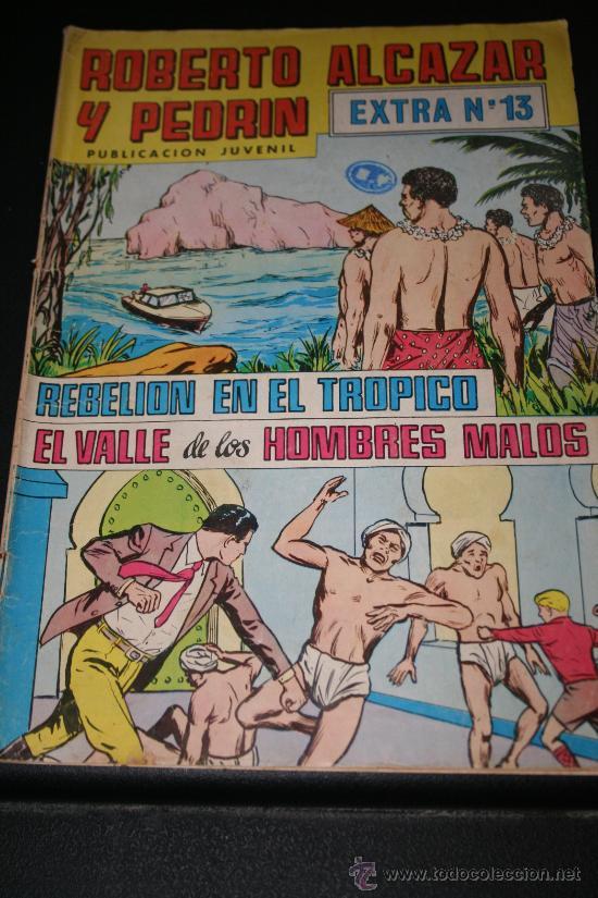 ROBERTO ALCÁZAR Y PEDRÍN. EXTRA Nº 13 (Tebeos y Comics - Valenciana - Roberto Alcázar y Pedrín)