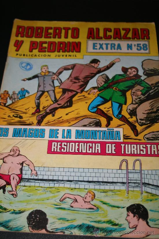 ROBERTO ALCÁZAR Y PEDRÍN. EXTRA Nº 58 (Tebeos y Comics - Valenciana - Roberto Alcázar y Pedrín)