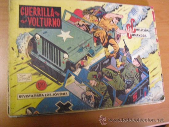 COLECCION COMANDOS Nº 60, 1958 DE LA VALENCIANA (Tebeos y Comics - Valenciana - Otros)