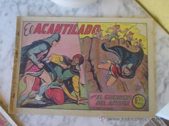 Tebeos: EL GUERRERO DEL ANTITAZ, EDITORIAL VALENCIANA. LOTE DE 8 NUMEROS. - Foto 3 - 27001727