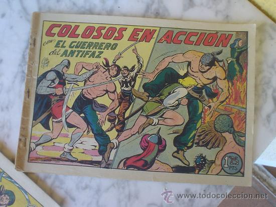 Tebeos: EL GUERRERO DEL ANTITAZ, EDITORIAL VALENCIANA. LOTE DE 8 NUMEROS. - Foto 4 - 27001727