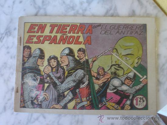 Tebeos: EL GUERRERO DEL ANTITAZ, EDITORIAL VALENCIANA. LOTE DE 8 NUMEROS. - Foto 7 - 27001727