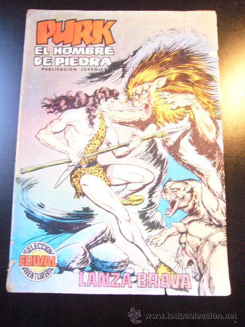 PURK, EL HOMBRE DE PIEDRA - Nº 89 EDIVAL 1975 C12X4 (Tebeos y Comics - Valenciana - Purk, el Hombre de Piedra)