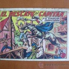 Tebeos: EL ESPADACHIN ENMASCARADO Nº 164 -- VALENCIANA -- ORIGINAL AÑOS 50. Lote 27163875