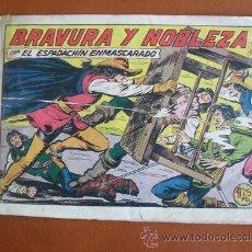 Tebeos: EL ESPADACHIN ENMASCARADO Nº 172 -- VALENCIANA -- ORIGINAL AÑOS 50. Lote 27164977