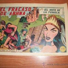 Tebeos - EL HIJO DE LA JUNGLA Nº 47 EDITORIAL VALENCIANA 1956 ORIGINAL - 27170299