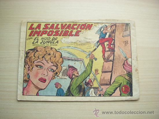 EL HIJO DE LA JUNGLA Nº 9, EDITORIAL VALENCIANA (Tebeos y Comics - Valenciana - Hijo de la Jungla)