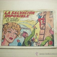 Tebeos: EL HIJO DE LA JUNGLA Nº 9, EDITORIAL VALENCIANA. Lote 27310163