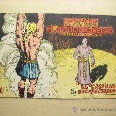 Tebeos: EL JUSTICIERO NEGRO Nº 13, EDITORIAL VALENCIANA. Lote 27456921