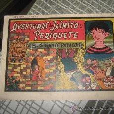 Tebeos: AVENTURAS DE JAIMITO Y PERIQUETE Nº 3. Lote 27538246