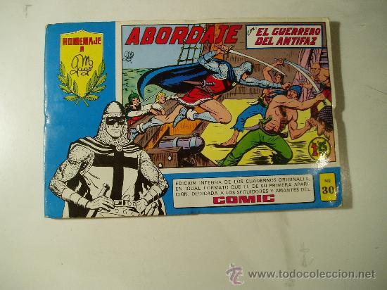 GUERRERO ANTIFAZ TOMO Nº 30 (Tebeos y Comics - Valenciana - Guerrero del Antifaz)