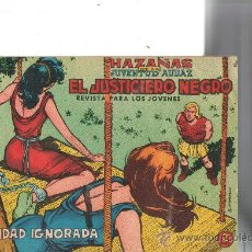 Tebeos: EL JUSTICIERO NEGRO Nº 8 DE VALENCIANA . Lote 27925908