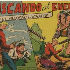 Tebeos: EL PEQUEÑO LUCHADOR - Nº 73 - EDITORIAL VALENCIANA 1962 - ORIGINAL . Lote 27947801