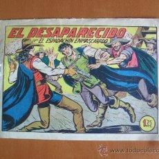 Tebeos: ESPADACHÍN ENMASCARADO Nº 183 EL DESAPARECIDO -- ORIGINAL. Lote 28098734